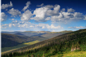 Rocky Mountain Valley by Enkphoto