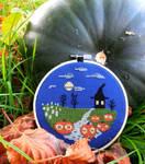 Halloween Cross Stitch by lauri142