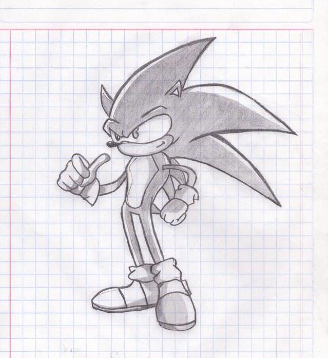 Sonic by xAlejandraTailsx