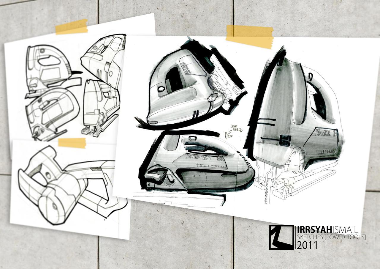 Sketches - Powertools by irrsyah