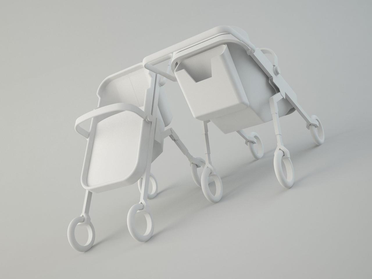 Mobius Stroller - WIP by irrsyah