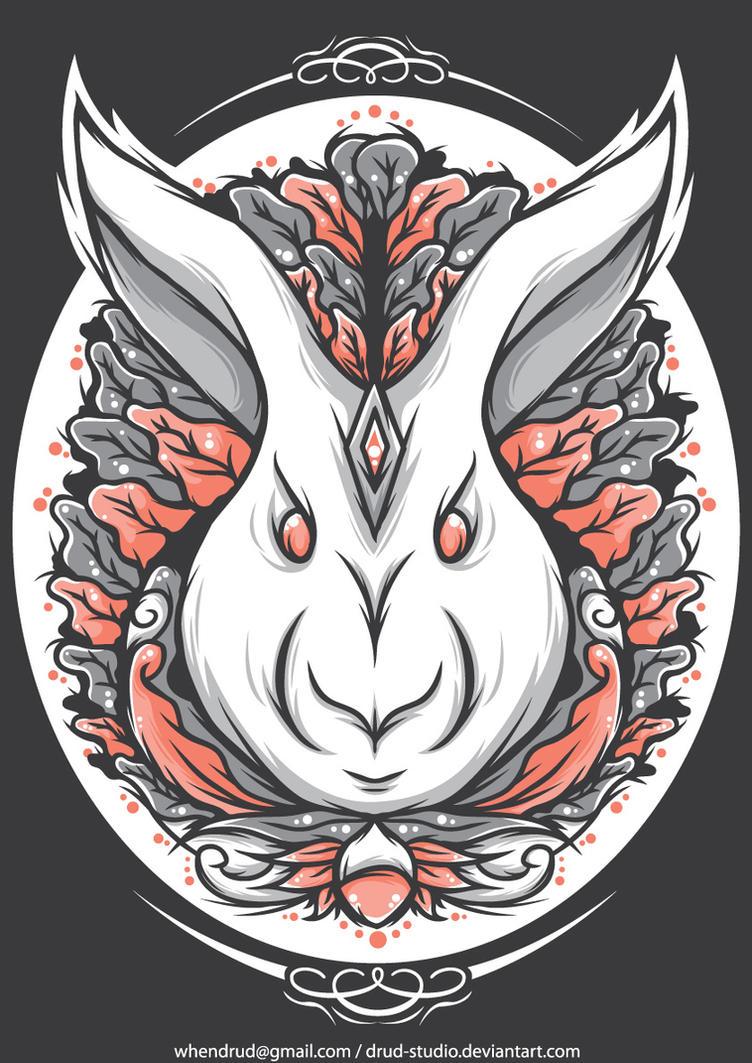 rabbit by drud-studio