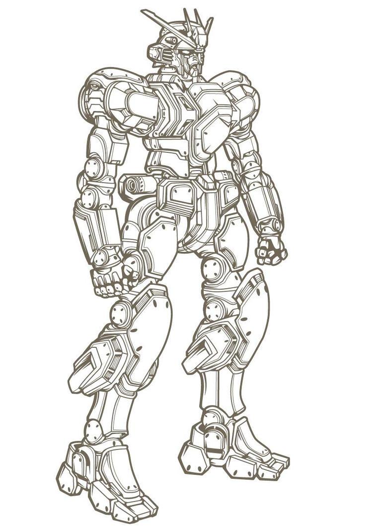 Gundam Thunderbolt WIP by drud-studio