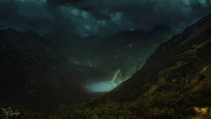 In these dark Tatras not of our times