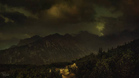 It's getting dark by kriskeleris