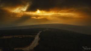 Extinction of the sun