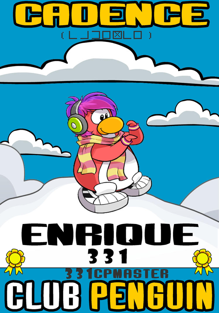 Cadence club penguin coloring pages