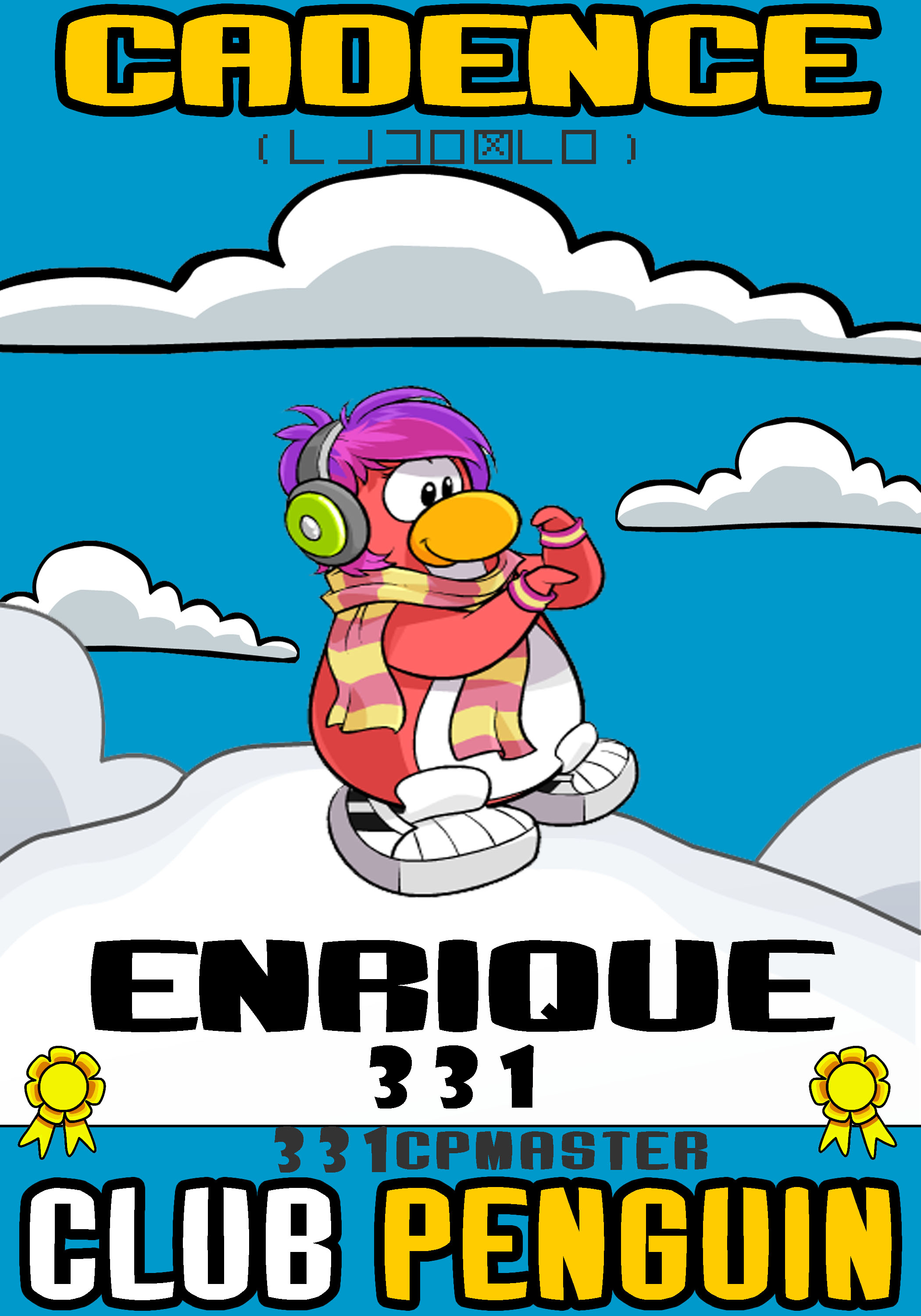cadence club penguin coloring pages - photo#32