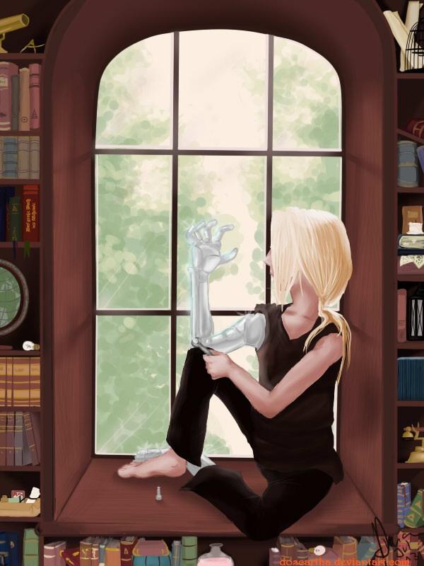 looking trough the window by doscartha