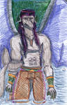 Rio Negro Clan Leader - Colored by LovelyLadyGray