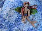 Speckles - Underwater Gargoyle Rag Doll by LovelyLadyGray