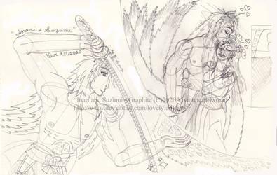 Inari and Suzumi - Graphite