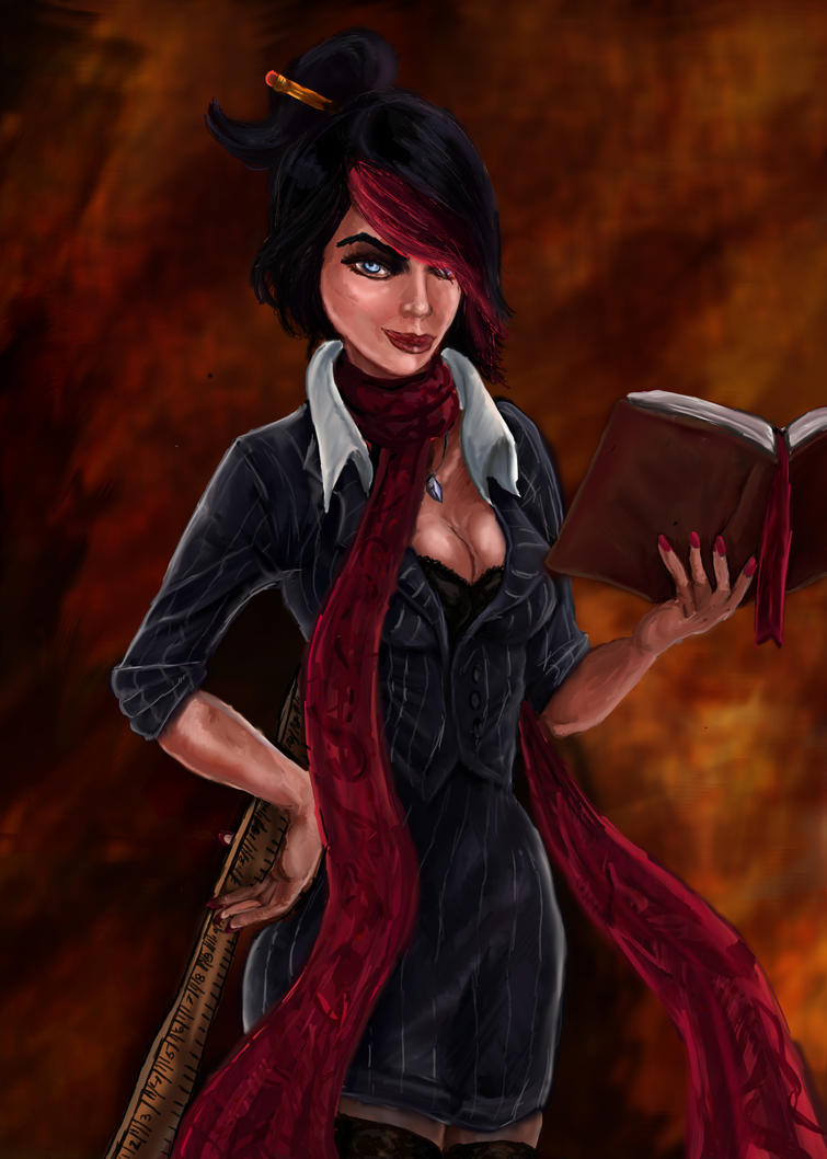 Headmistress Fiora by Zenilla94