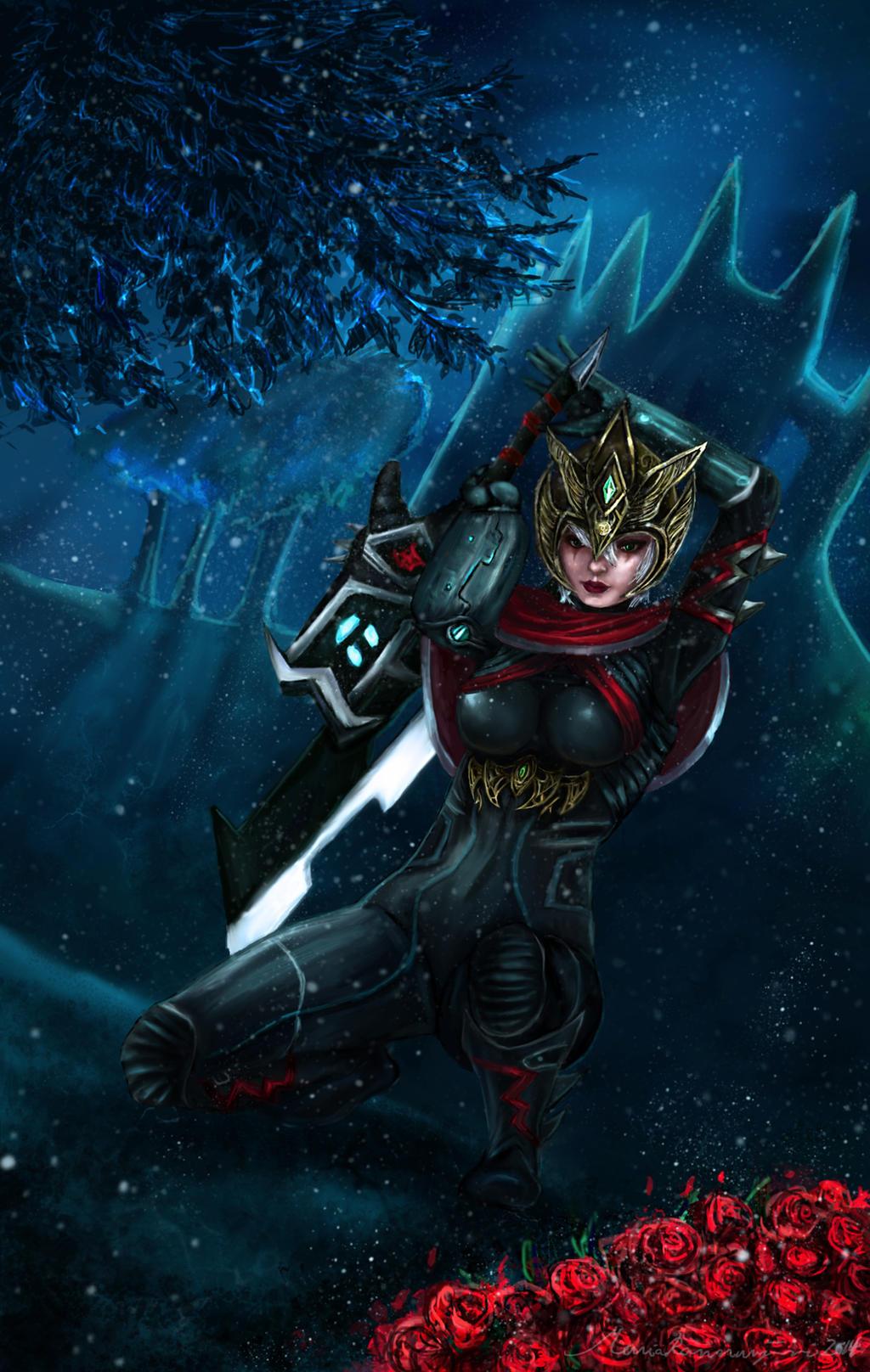 Crimson Elite Riven by Zenilla94 on DeviantArt