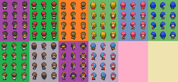 Pokemon Anime Characters Project by LearKing