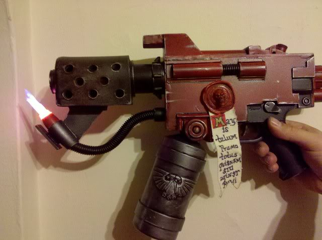 Warhammer 40k Handflamer by Finnlock
