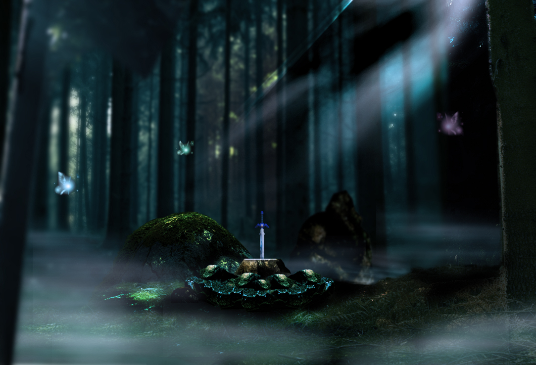 Sword Awaits In The Stone By Andrelevydeoliveira On Deviantart