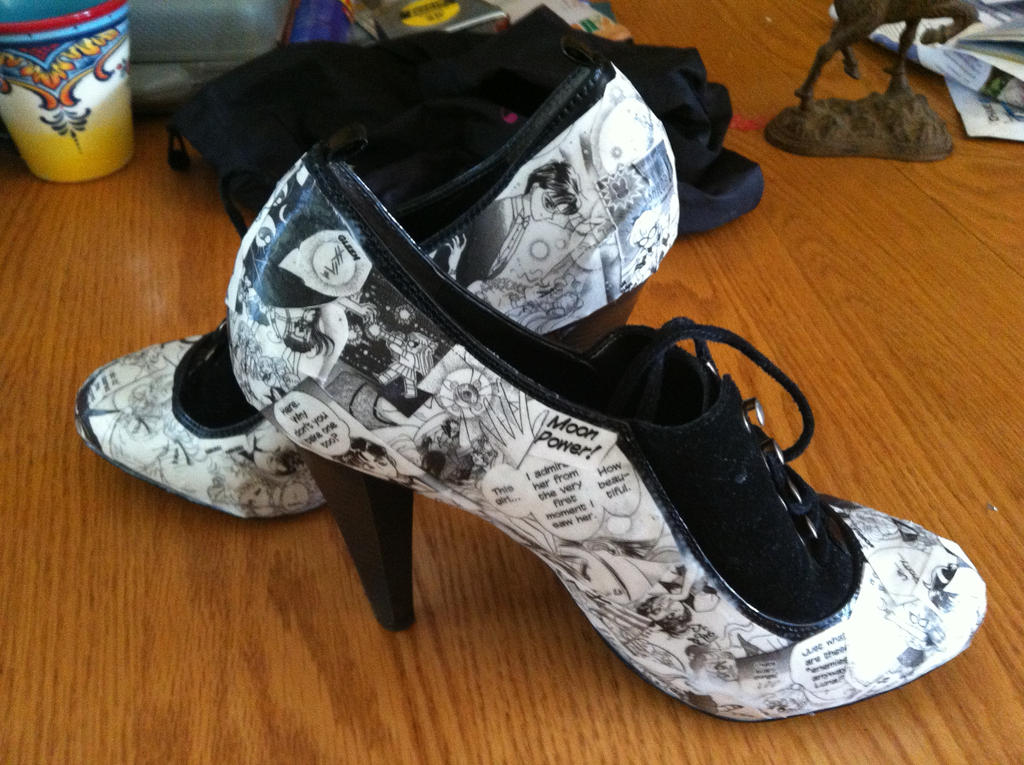 Manga Shoes! by Spizzit on DeviantArt