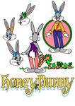 Honey Bunny (Bugs Bunny's girlfriend) - 1980's