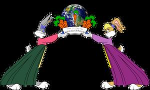 Honey Bunny and Lola Bunny: Carrot Propaganda