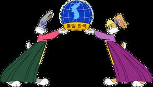 Honey Bunny and Lola Bunny: Unified Korea