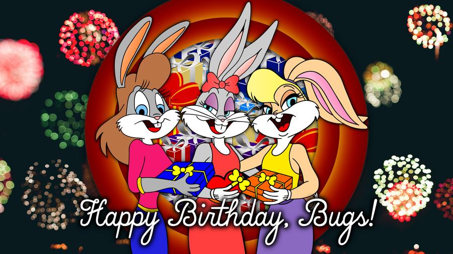 Happy Birthday Bugs Bunny By HoneyBunnyFanClub On DeviantArt