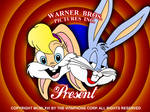 Lola Bunny and Bugs Bunny conceptual intro