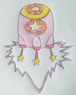 Missile Kirby by confusedkangaroo
