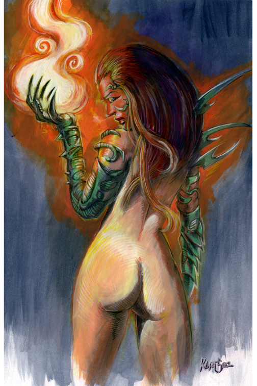 Page 14: Witchblade nude by myleadinglady