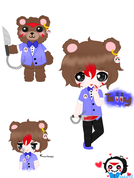 Human (not really) TeddyBear