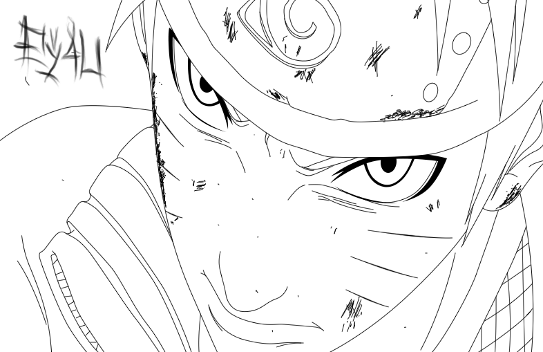 Naruto 690 Lineart by SOULEXODIA