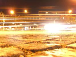 Candidplatz at night II by mdosch