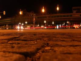 Candidplatz at night III by mdosch