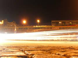 Candidplatz at night IV by mdosch