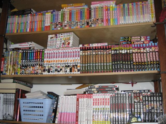 My manga collection by shirozzu