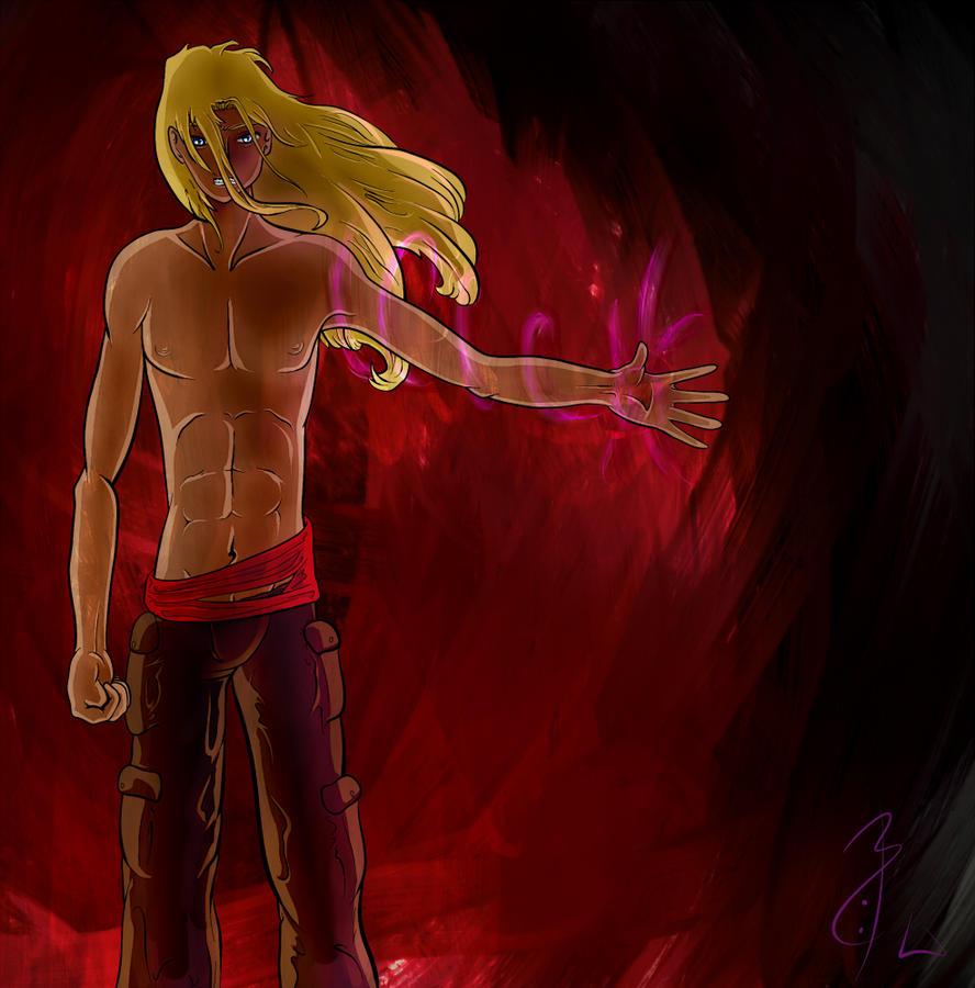 Warrior of the Dark Gods by Alachine