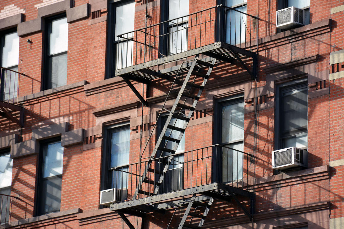 New York - Fire Escape by Pyroguy24