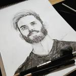 My drawing of Felix Kjellberg/Pewdiepie!