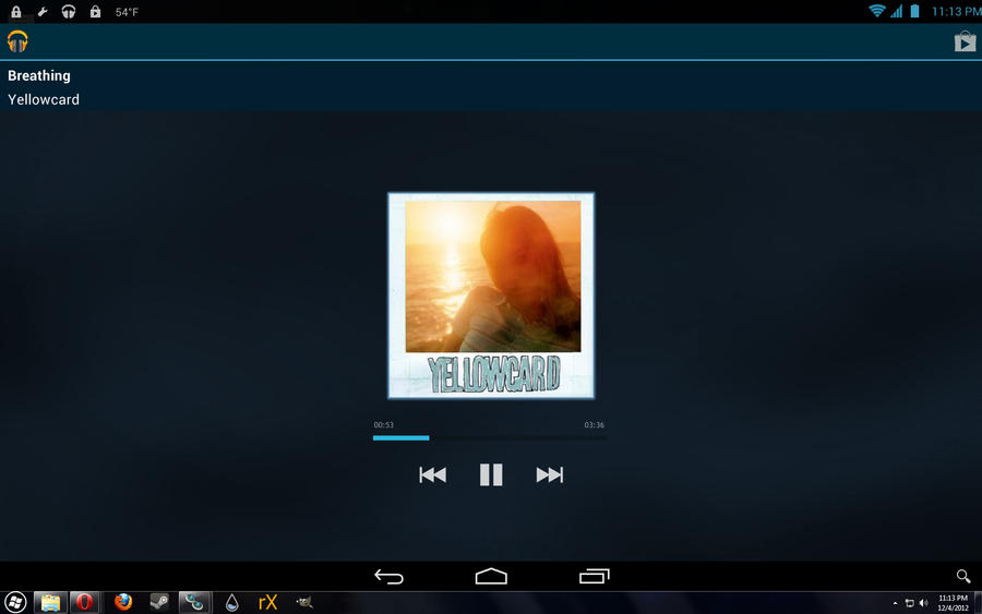 android 41 jelly bean for rainmeter play music by