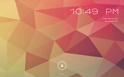 WIP Android Jelly Bean for Rainmeter V2 Lockscreen by ScoobSTi