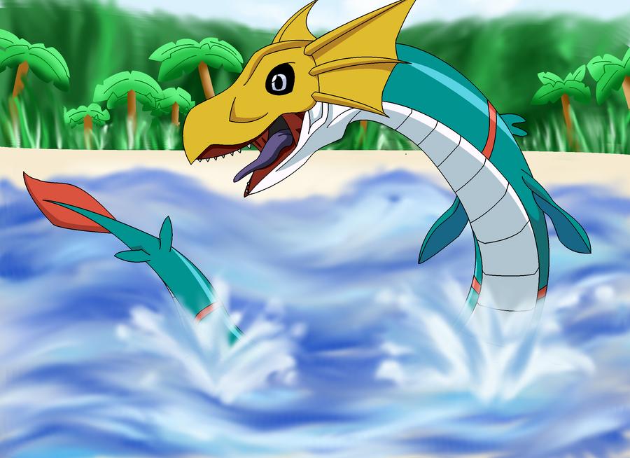 Digimon Seadramon | www.imgkid.com - The Image Kid Has It!
