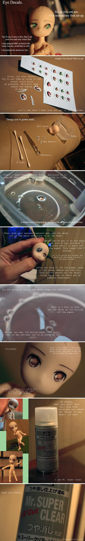 Obitsu Eye Decal Tutorial. by sdrcow