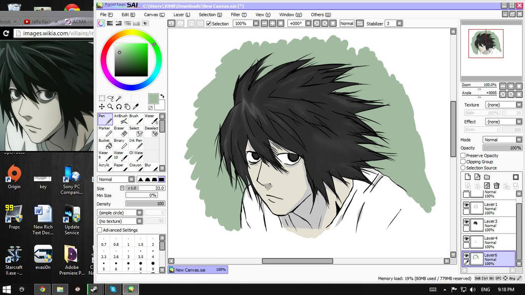 I Dont Have A Brush Tool Paint Tool Sai