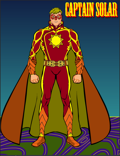 Captain Solar by RiktoLarib