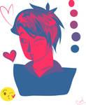 Hetalia- Romano kiss emoji