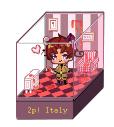 Hetalia- Luciano pixel box by CarolconC
