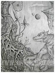 Innerworld dragon by sonjakallio