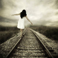 railroad to nowhere by photoflake