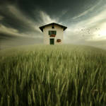 the house on the hill by photoflake