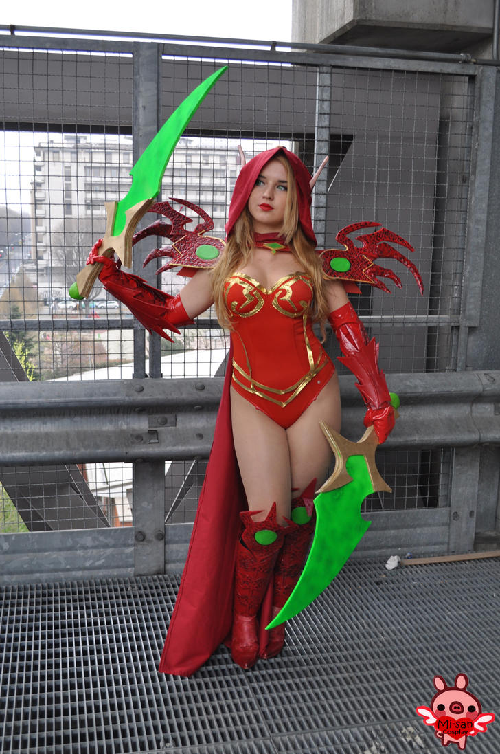 Valeera Sanguinar by Mi-san cosplay by ValeeraHime